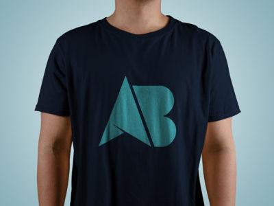 Özel tipografi tişört ve giyim baskı tasarımı